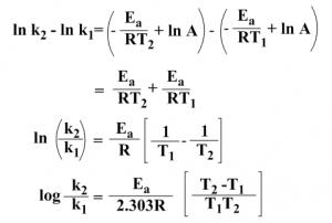 Arrhenius Equation 24