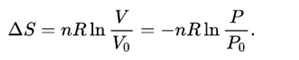 Entropy Equation 6
