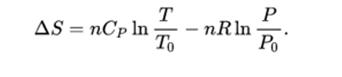 Entropy Equation 10