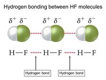 Hydrogen Bonding in Hydrogen Flouride (HF) 5
