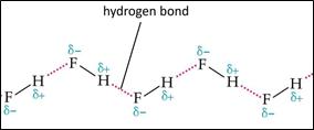 Hydrogen Bonding in Hydrogen Flouride (HF) 7
