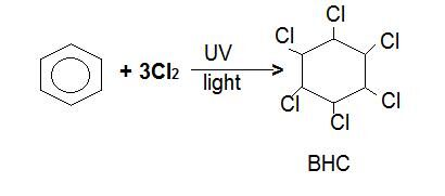Chlorination of Benzene 3