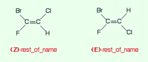 E and Z Isomers 4