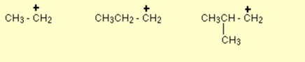 Tertiary Carbocation 3