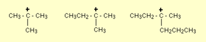 Tertiary Carbocation 7