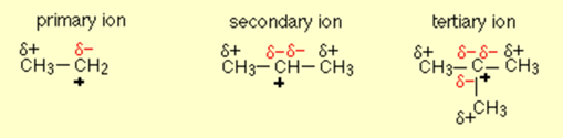 Tertiary Carbocation 9
